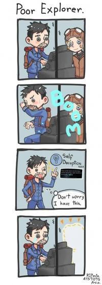 Poor Explorer.