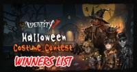Halloween Costume Winners!