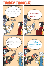 Thanksgiving Comic