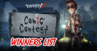 Comics Contest Winners!