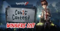 Comics Contest Winners!
